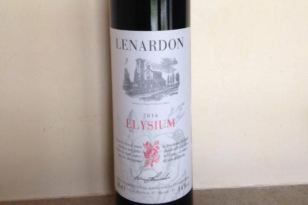 Elysium 2016: vino aromatico dell'azienda Bruno Lenardon