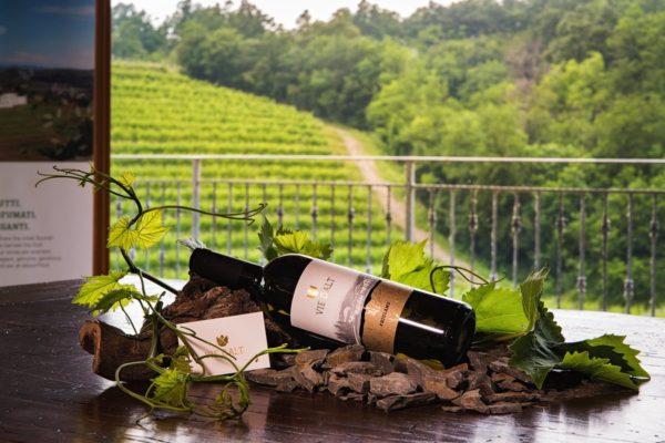 Nuova etichetta dell'azienda vinicola Vie D'Alt di Prepotto
