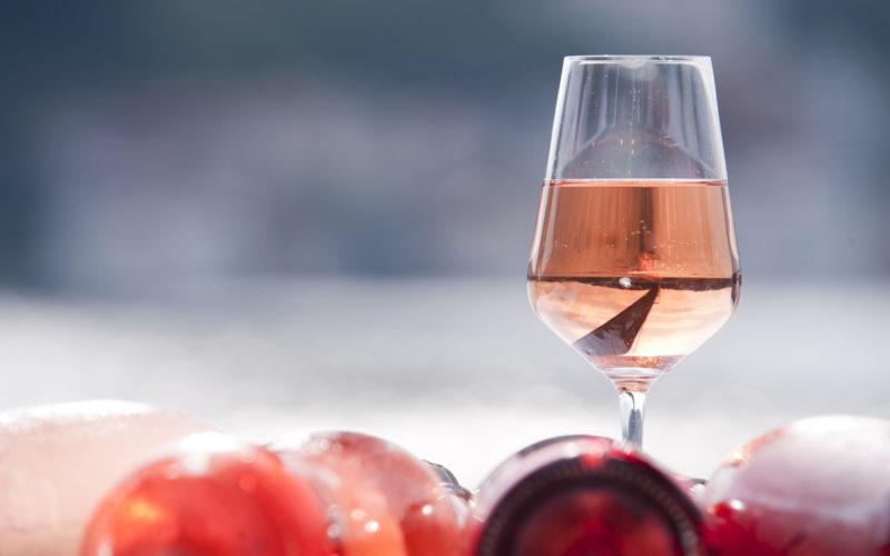 Italia in rosa, passerella di Rosé a San Giorgio della Richinvelda