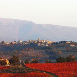 La bellezza di Montefalco, il sapore unico del Sagrantino