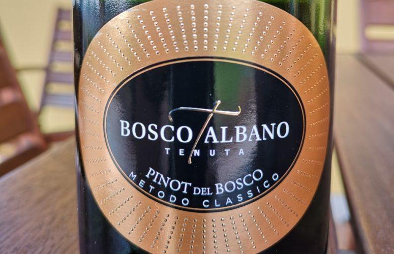"""Bosco Albano presenta """"Pinot del Bosco"""""""