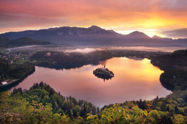 Viaggio a Bled, la meta più romantica della Mitteleuropa