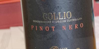 """Collio: Pinot Nero di Komjanc, nuova etichetta """"Dedica"""""""