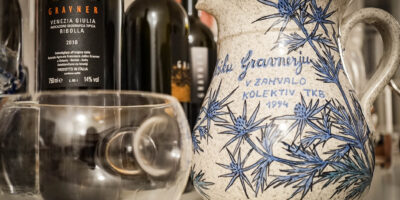 Gravner Ribolla 2012, Orange wine in degustazione